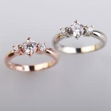 唯钻会莫桑钻玫瑰金系列珠宝,汇集精致优雅于一身